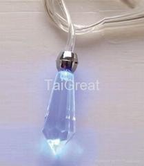 LED Flashing Light Necklaces