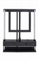 LCD TV electrical risers