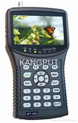 "4.3""handheld satellite finder(MPEG-4)CCTV monitor (Hot Product - 1*)"