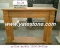 Granite fireplace 5