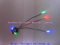 闪光鞋LED底面灯
