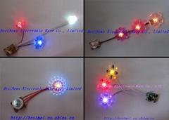 闪光鞋饰灯串丨电子发光鞋灯