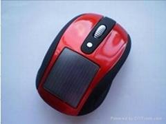 2.4G太阳能无线鼠标