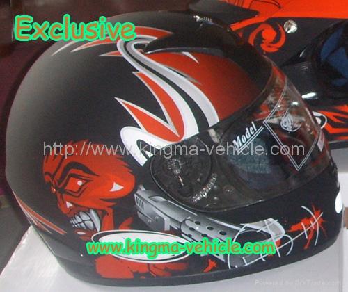 motorcycle fin helmets
