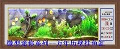 新新壁挂万年历水族鱼缸