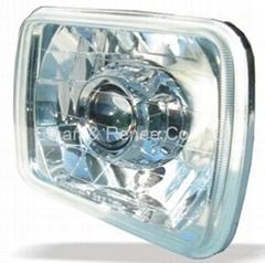 Bi-Xenon Universal Projector Headlamp (Square Type)