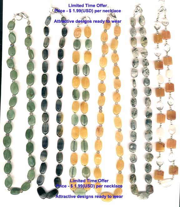 Beaded Necklaces 1