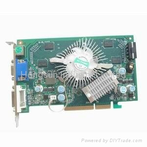 NVIDIA GeForce 7600GS AGP 512MB P508 Video Card 1