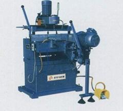 PVC win-door lock -hole processing machine