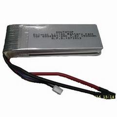 7.4V 1500mAh 20C Li-Poly Pack