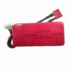 11.1V 1300mAh 20C RC LiPO Battery Pack