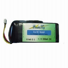11.1V,2000mAh,25C Li-Polymer battery pack