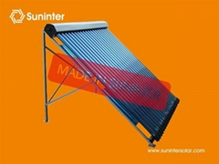 Separated Pressurized Solar Collector Panel