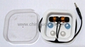 Earphone in gift box packed
