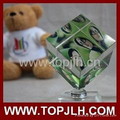 blank photo crystal