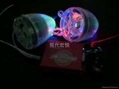 彩燈透明喇叭防盜摩托車音響