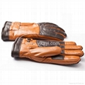 men's leather gloves with plush lining