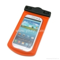 pvc waterproof dry bag for mobile phone