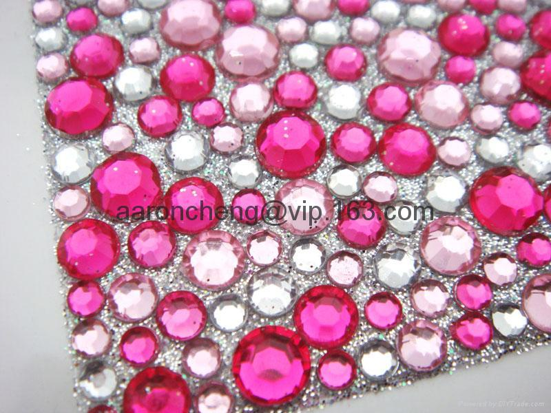 self-adhesive sticker,mobile phone sticker,acrylic crystal stickers, 4