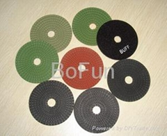 Flexible Diamond Wet & Dry Polishing Pads