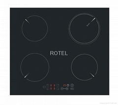 4 station INDUCTION COOKER