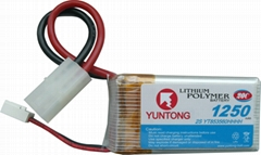 high rate lithium polymer battery for RC hobby