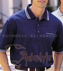供应各种高档商务T恤,北京T恤,polo衫,工服等