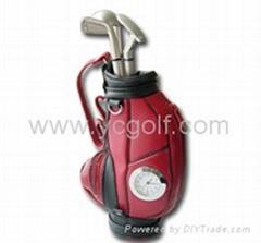 golf bag penholder