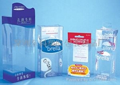 clear gift packaging boxes /PET boxes