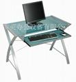 [雷英]雪蓮娜電腦桌海洋藍版