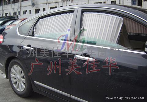 日产天籁汽车窗帘银A 1