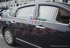 日产天籁汽车窗帘银A