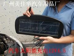 汽车太阳能电瓶充电器4.5W新产品