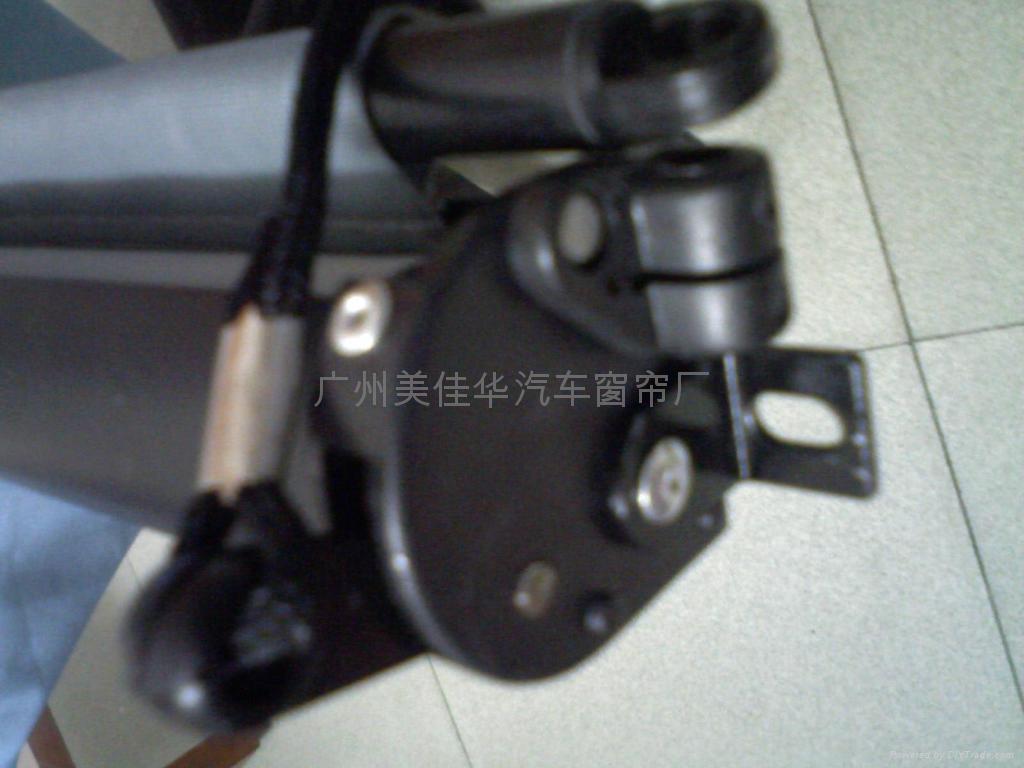 广州美佳华客车遮阳帘自锁式 3