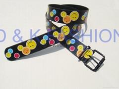 Smile face belt of 60197