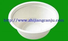 供应350ML纸浆碗(图)纸浆餐具