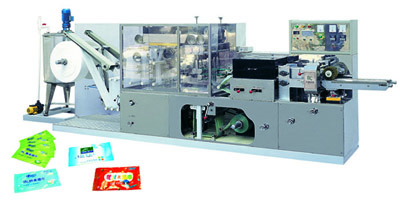 DC-200 Fullautomatic wet tissue making and packing machine 1
