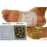 wooden bamboo vinegar detox foot patch 1