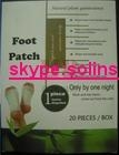 wooden bamboo vinegar detox foot patch 4