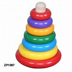 Rainbow pillar