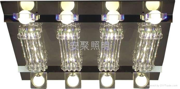 LED crystal ceiling lamp 1