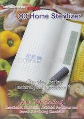 淨源超氧解毒機-O3 Home Sterilizer