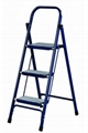 Flat Circle Tube Steel Ladder