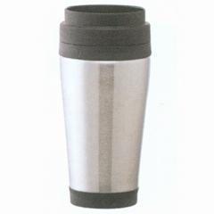 The stainless steel travel mug