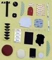 Textile fiber adhesive tape