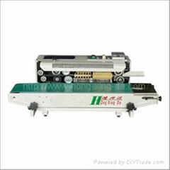 自动薄膜印字封口机 /塑袋封口机/鹤山封口机