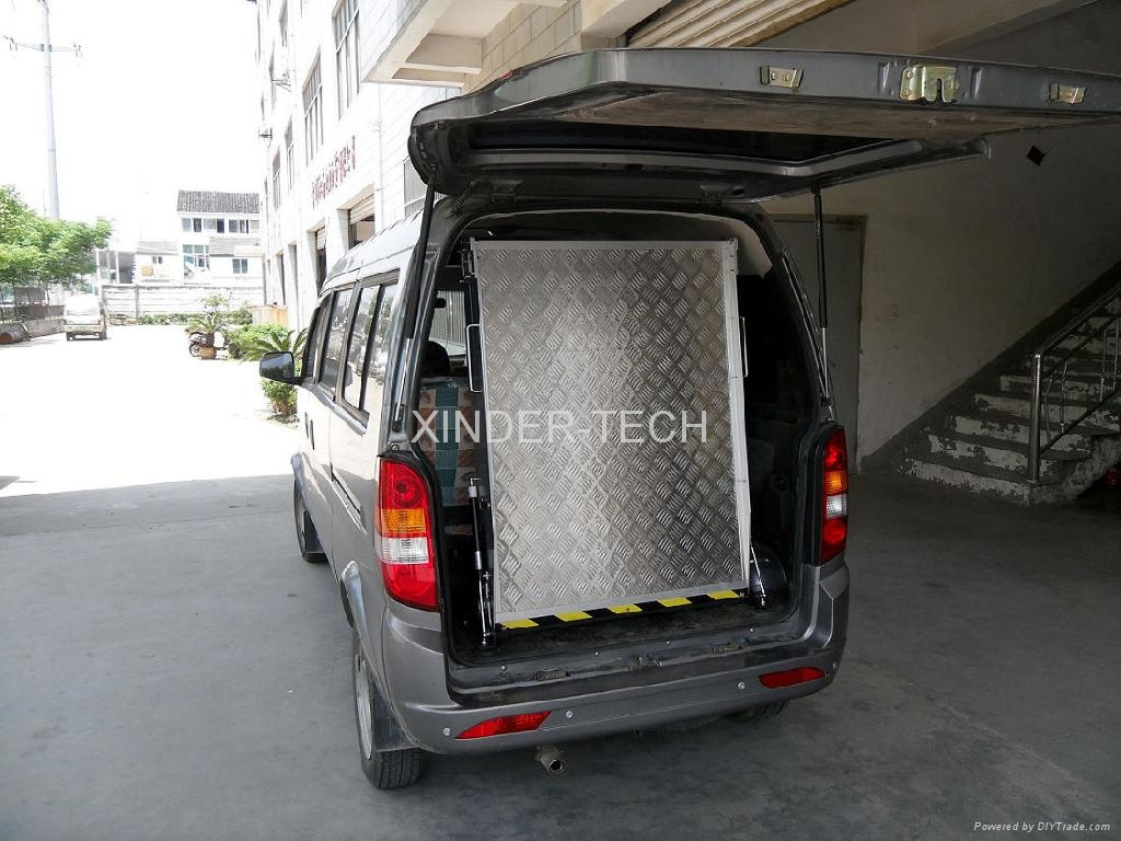 Wheelchair Ramp for Van (BMWR) - BMWR-2 - XINDER (China Manufacturer ...