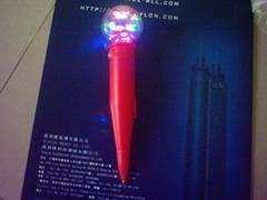 globe-whirling pen