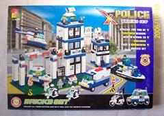 Police Bricks Set