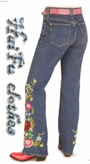Ladies' stretch denim
